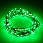 ER CHEN(TM) {New Version 240LED 12m} Indoor and Outdoor Waterproof Battery Operated 240 LED String Lights on 12m Long Ultra Thin Copper String Wire with Timer