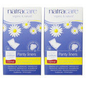 Natracare Normal Wrapped Panty Liners, 18 Count, 2 Pack