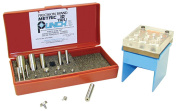 Precision Brand Metric 10 TruPunch Punch and Die Set with Stand