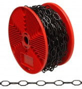 Black Finish Cathedral Chain On Reel Campbell Chain 713177 020418188381