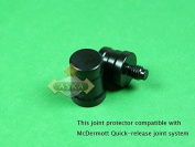 Joint Thread Protectors for Billiard Pool Cue Stick with McDermott Quick Release Joint, Brand New, Comes As a Set - Protect Shaft and Butt, Protect Your Cue Stick