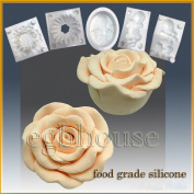 Opening Night Hybrid Rose- Silicone Soap/sugar/fondant/chocolate/marzipan 3d Mould