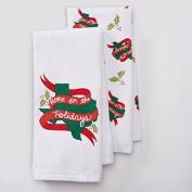 Christmas Texas Kitchen Towel Set- 2 Piece- 42cm x 70cm