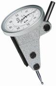 Brown & Sharpe TESA 74.111376 Interapid 312 Dial Test Indicator, Vertical Type, M1.7x4 Thread, 4mm Stem Dia., White Dial