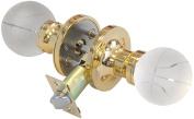Krystal Touch of New York 3609BPR Basketball Privacy Doorknob, 6.4cm , Brass