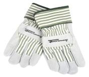 Cowhide Leather Palm Premium Women's Work Gloves Medium