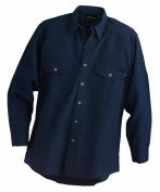 Workrite 290NX45NB40-0R Flame Resistant 130ml Nomex IIIA Long Sleeve Utility Shirt, Button Cuff, 40 Chest Size, Regular