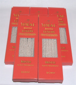 5 Boxes Ideal Pipe Cleaners -White Bristle - 180 Count Total FOR Heavy Cleaning