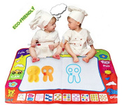 Large Doodle Mat Magic Pen Water Painting Drawing Writing Board Toy For Baby Kids Gift by lanlan