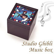 (Japanese Licenced Product)Studio Ghibli Stained Glass Style Music Box