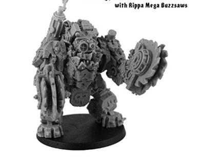 Kromlech Miniatures: Orc Juggernaut with Rippa Buzzsaws