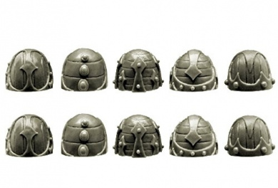 28mm Sci-Fi - Changed Legions: Changed Knight Shoulder Pads (ver. 2)