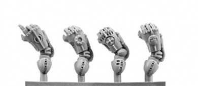Kromlech Conversion Bitz: Legionary Power Gloves right (4)