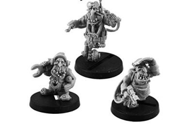 Kromlech Miniatures: Goblin Grease Monkeys