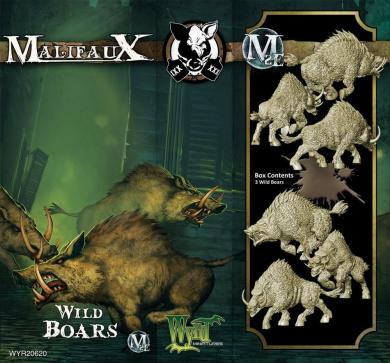 Malifaux: Gremlins - Wild Boars