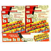 A to Z Who Is It. Traditional Childrens Travel Game Toy