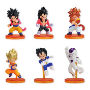 Dragon Ball Deformed Activation GT & freezer edited 10 pieces Candy Toys & gum