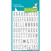 Lawn Fawn Clear Stamps - Violet's ABC's Stamps