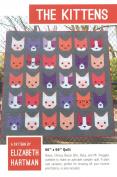 The Kittens Elizabeth Hartman 3 Quilt Sizes Pattern Piecing
