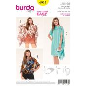 Burda Sewing pattern, 6935 - Shirt and Dress