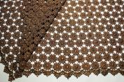 Altotux 90cm Daisy Venice Lace Fabric All Over Both Side Scalloped Edge 9 colours