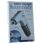 Silver Auto Escape Hammer Rescue Tool Survival Gear