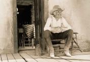 Lonesome Dove Porch Gus 8 X 10 Photo