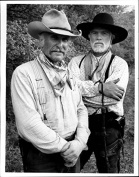 Lonesome Dove Gus And Call Black And White (2) 8 X 10 Photo
