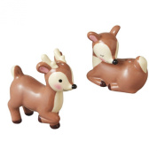 Reindeer Deer Salt and Pepper Shakers Set