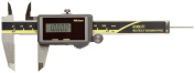 "Mitutoyo ABSOLUTE 500-473 Digital Calliper, Stainless Steel, Solar Powered, Inch/Metric, 0"" - 10cm Range, +/-0cm Accuracy,"