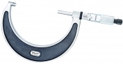 Starrett 226RL-4 Outside Micrometre, Ratchet Stop, Lock Nut, 7.6cm - 10cm Range, 0cm Graduation, +/-0cm Accuracy