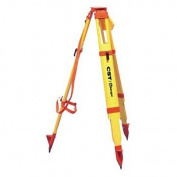 CST Berger 60-WDF20-O 180cm Fibreglass Heavy Duty Orange Quick Clamp Tripod