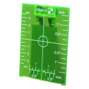 Stabila 07442 Green Magnetic Ceiling Target Plate w/ Leg for Green Beam Lasers