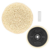 DW4985CL 18cm . Wool Buffing and Backing Pad Kit