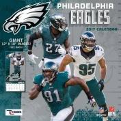 Cal 2017 Philadelphia Eagles 2017 12x12 Team Wall Calendar