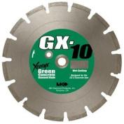 MK Diamond 159620 MK-GX-10 36cm Wet Cutting Segmented Saw Blade with 2.5cm Arbour for Green Concrete