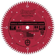Freud LU98R010 25cm 80 Tooth TCG Single Sided Laminate and Melamine Cutting Saw Blade with 1.6cm Arbour and PermaSh