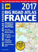 AA Big Road Atlas France 2017