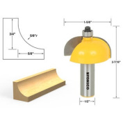 Cove Edging and Moulding Router Bit - 5/8 Radius - 1/2 Shank - Yonico 13157
