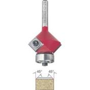 Freud 43-216 45-Degree Insert Bevel Trim Router Bit with 0.6cm Shank