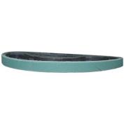 Magnate Z1X42S8 2.5cm x 110cm Sanding Belt - Zirconia Alumina - 80 Grit; Y Weight; 10 Belts/Pkg