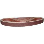 Magnate K1X30S4 2.5cm x 80cm Open Coat Sanding Belt, Aluminium Oxide - 40 Grit; X Weight; 10 Belts/Pkg