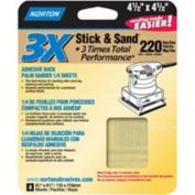 07660706077 P150-Grit 3X Stick & Sand Sheet, 10cm - 1.3cm x 11cm