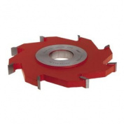 Freud UP178 1.3cm 8-Wing Groove Cutter For Shaper, 1-1/4 Bore