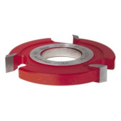 Freud UP142 3-Wing 1.3cm Straight Edge Shaper Cutter, 1-1/4 Bore