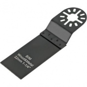2.5cm - 0.6cm Pushcut Universal Saw Blade for Oscillating Multi-Tools