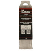 M.K. Morse RB65006T25 6-by-1.9cm by 0.1cm 6 TPI Bi-metal Reciprocating Saw Blade, 25-Pack
