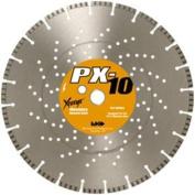 MK Diamond 160448 MK-PX-10 Dry Cutting Segmented Saw Blade with 2.5cm Arbour for Brick Paver