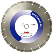MK Diamond 128876 MK-500 25cm Wet Cutting Segmented Saw Blade with 2.5cm Arbour for Cured Concrete
