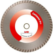 MK Diamond 158358 MK-625D 25cm Dry Cutting Continuous Rim Saw Blade with 1.6cm Arbour for Masonry